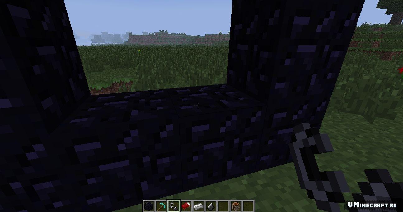 Как сделать портал в нижний мир minecraft
