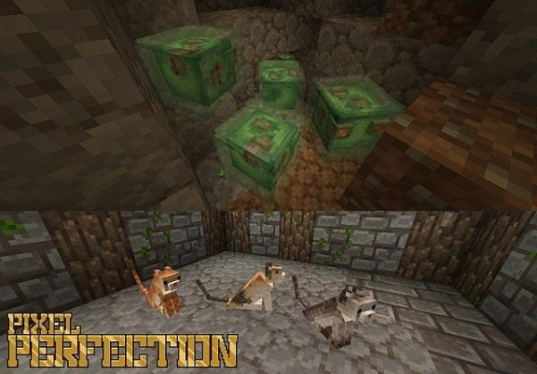Ресурспак Pixel Perfection для Minecraft