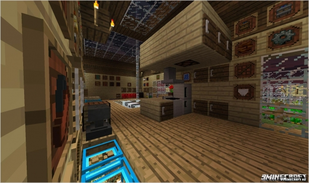 Мод Super Crafting Frame для Minecraft